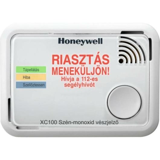 Honeywell XC100-HU-A szénmonoxid riasztó 10 év élettartam és jótállás