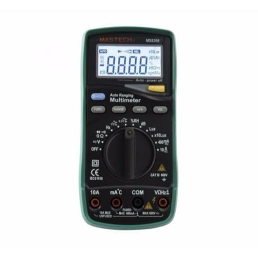 SMA by Somogyi MS 8209 professzionális multiméter