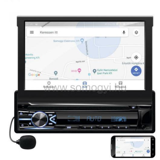 SAL VB 800i autórádió és multimédia lejátszó 7