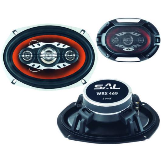 SAL WRX 469 autóhangszóró párban 4 utas nagy ovál