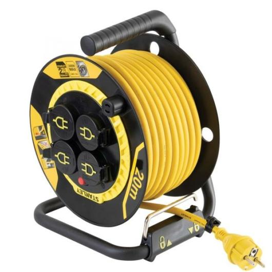 Stanley SXECCL27ARE kültéri kábeldob 20 méter IP44