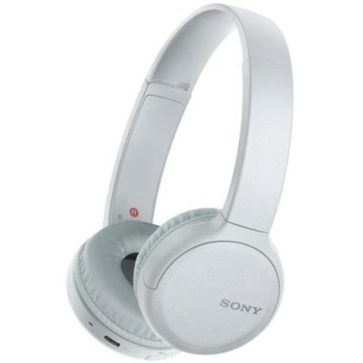 Sony WH-CH510 Bluetooth fejhallgató és headset fehér színben akár 35 órás üzemidővel