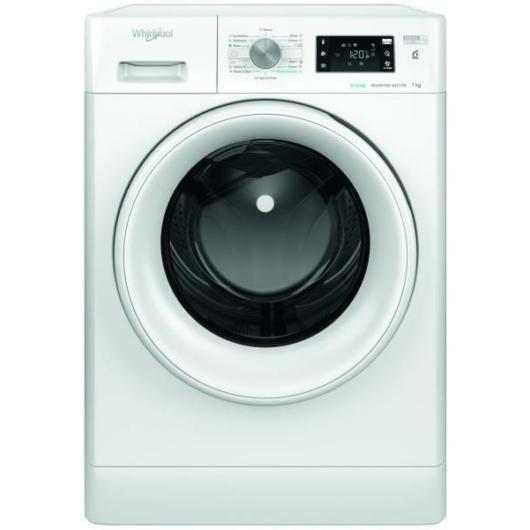 Whirlpool FFB 7238 WV EE elöltöltős mosógép 7 kg ruhatöltettel 1200 fordulatos centrifugával