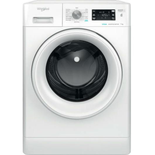 Whirlpool FFB 7438 WV EE elöltöltős mosógép 7 kg ruhatöltettel 1400 fordulatos centrifugával