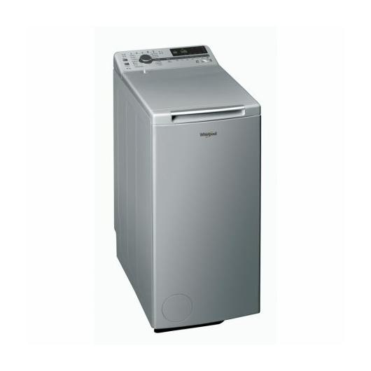 Whirlpool TDLRS 7222BS EU/N ezüst színű felültöltős mosógép 7 kg ruhatöltettel, 1200 fordulatos centrifugával, Aquastoppal