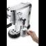 Kép 3/4 - DeLonghi EC685.M DEDICA karos presszókávéfőző 15 baros csészemelegítővel fém házban inox színben