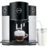 Kép 2/2 - Jura D6 Platin automata kávéfőző 15 bar ezüst-fekete színben