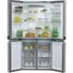 Kép 1/3 - Whirlpool WQ9 B2L Side by Side amerikai hűtőszekrény inox színben nofrost hűtési rendszer